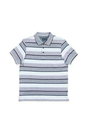 Man polo shirt isolated on white