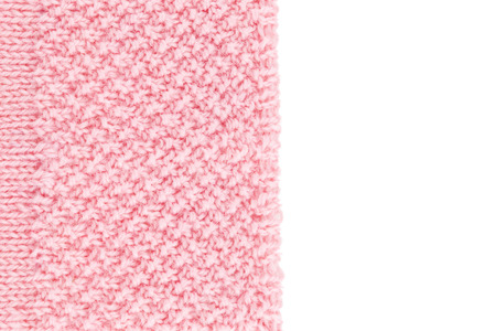 pink background: Rose wool knitted textured background