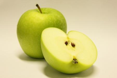 sustenance: green apple Stock Photo