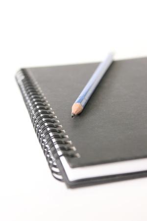 pencil,paper Stock Photo