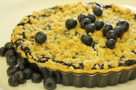 blueberry pie: pastel de ar�ndanos