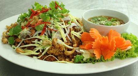 mingle: spicy Thai salad Stock Photo