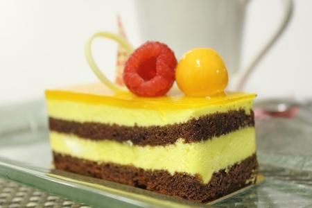 passion fruit cake photo