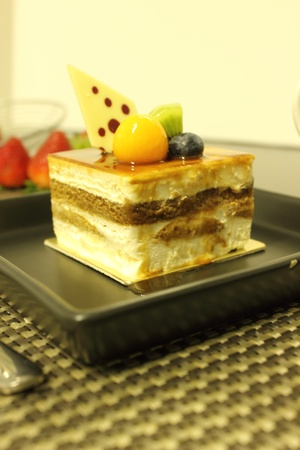 Tiramisu cake Stock Photo - 11095363