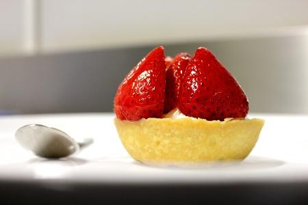 Strawberry tart photo