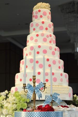 tiered: wedding cake
