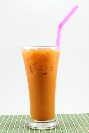 milk ice tea Stock Photo - 12939453