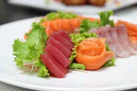 tuna slice photo