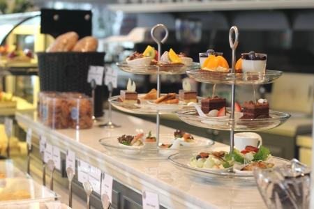 cakestand: Afternoon tea set