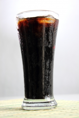 Ice black coffee photo