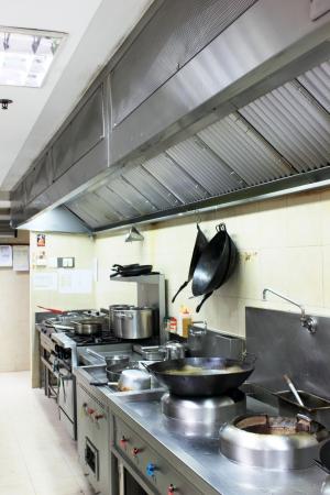 cocinas industriales: A accesorios de cocina en acero inoxidable moderna