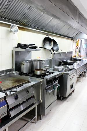 hotel kitchen: A Kitchen accessories in modern stainless steel