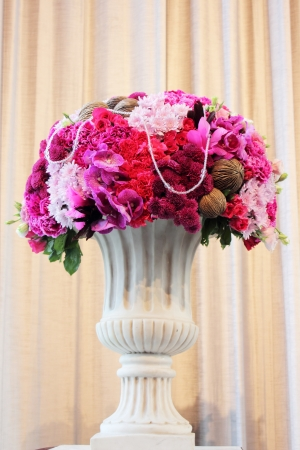 the Bouquet of flowers in a vase photo