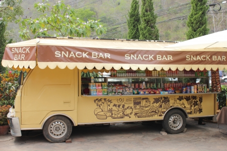 The Tour of car snack Mobile Shop