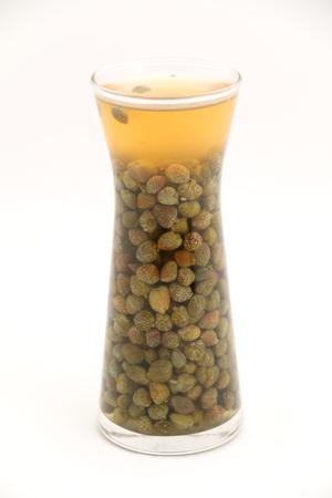 alcaparras: alcaparras en vinagre