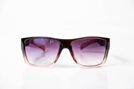 wayfarer: A Sun Glasses isolated on white background.