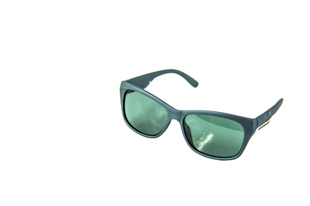 wayfarer: A Sunglasses isolated on a white background