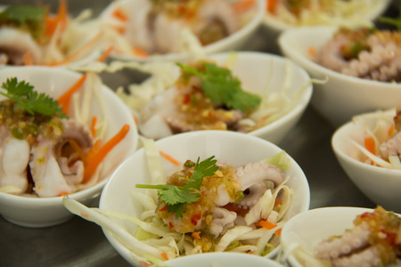 party with food: Catering party Food and cocktails in thailand. Stock Photo