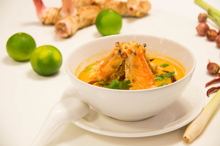 tom': tom  yum  soup  goong