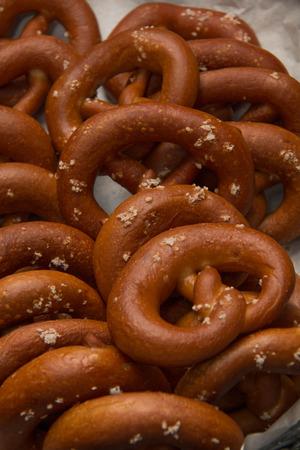 original: Variation of original german bread and wholemeal Stock Photo