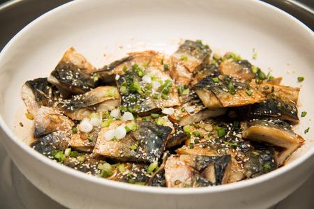 seawater: Grill Saba, Japanese seawater fish