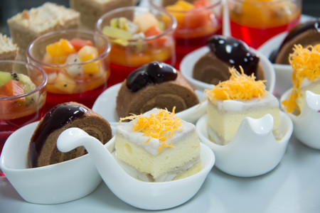 A mini dessert  for party Imagens