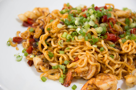 delicious tasty Fried Thai Mama Instant Noodles