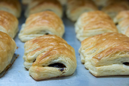 A delicious danish pastry dessert for breakfast