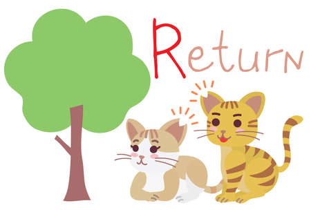 "Illustration of the regional cat plan of ""Return"""