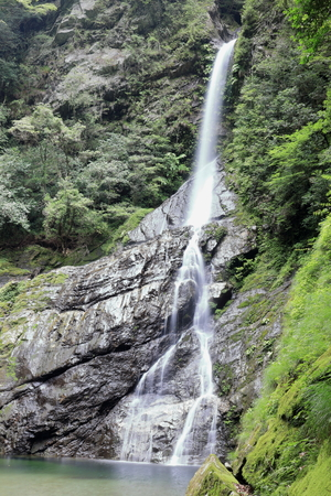 Yasui Valley flying dragon waterfall