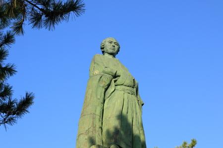 See the Sun Dragon horse statue (Katsura Beach)