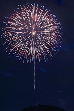 Fireworks display (Kochi City) Stockfoto