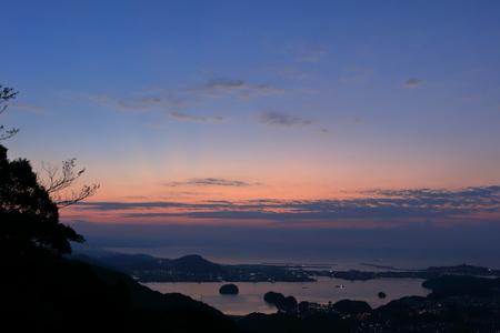 Urado Bay at dawn (Kochi, Kochi Prefecture)