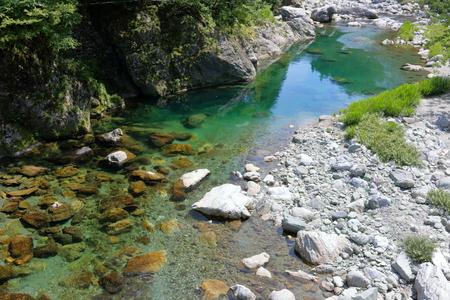 Tributary of the Niyodo River Yasui River (Kochi Prefecture)