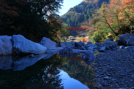 Morning of Yasui Valley (Kochi Prefecture)