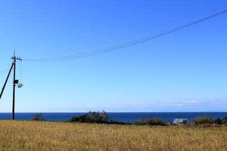 On the way home of Iokido (Aki city, Kochi prefecture)