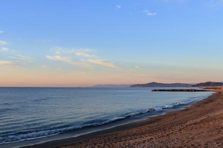 Early morning Katsurahama coastline (Kochi city)