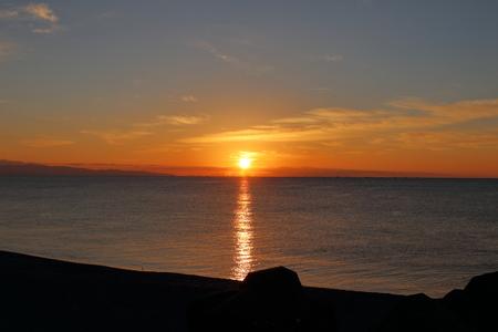 Sunrise Katsurahama Coastline (Kochi Prefecture)