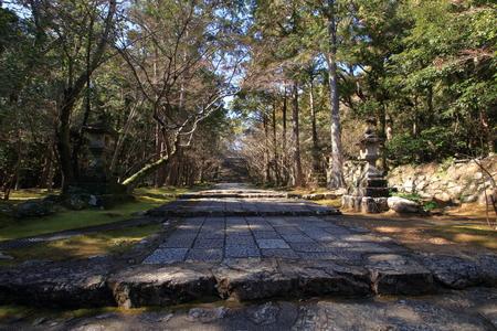 Shikoku Reijo No. 31 Fudasho Godaiyama Takebayashi Temple Approach
