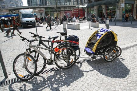 Kid Bicycle Trailer - for traveling with children