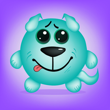 stupid body: original dog smiling