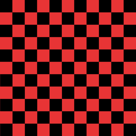 Black and red checkered pattern