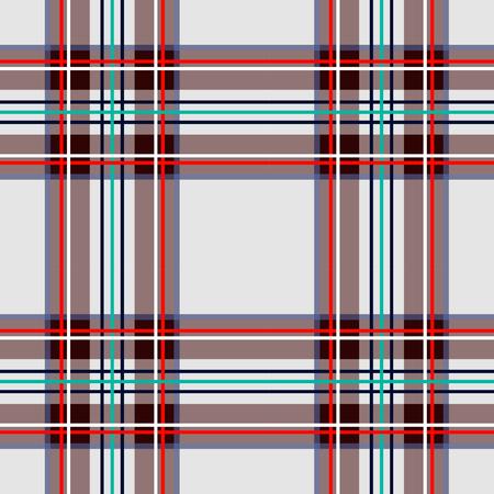 Scottish cage, white celtic. Scottish white checkered background. Scottish pattern. Vector illustration