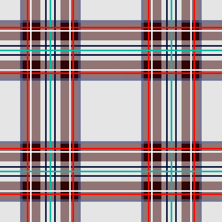 Scottish cage, white celtic. Scottish white checkered background. Scottish pattern. Vector illustration