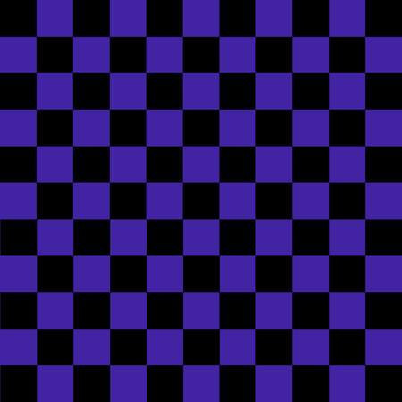 Black and purple checkered background. Background in a cage. Vector illustration