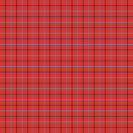 Tattersall tartan plaid. Scottish cage. English beige checkered background. Traditional scottish ornament. Seamless fabric texture. Vector illustration