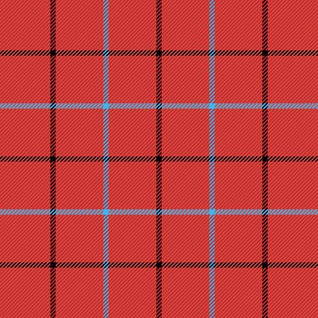 Tattersall tartan plaid. Scottish cage. English beige checkered background. Traditional scottish ornament. Seamless fabric texture. Vector illustration