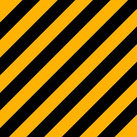 Halloween Pattern of repetitive slanting strips of black and orange color. Black and orange slanting stripes background. Seamless texture background. Vector illustration Illustration