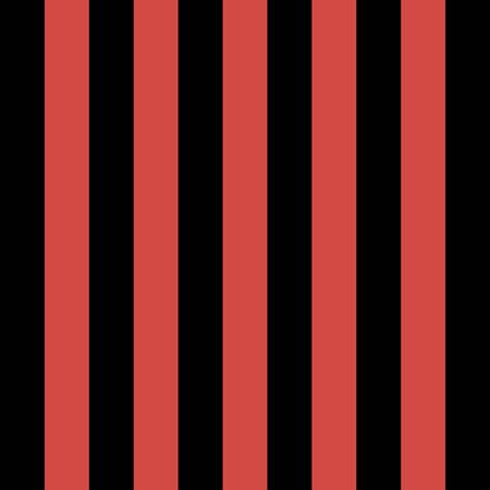 Christmas and new year pattern of repetitive vertical strips of black and red color. Red and black vertical stripes background. Seamless texture background. Vector illustration