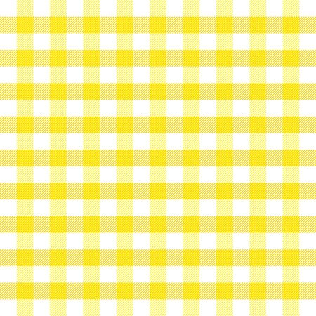 Easter Tartan plaid. Scottish pattern in yellow, violet and green cage. Scottish cage. Traditional Scottish checkered background. Seamless fabric texture. Vector illustration